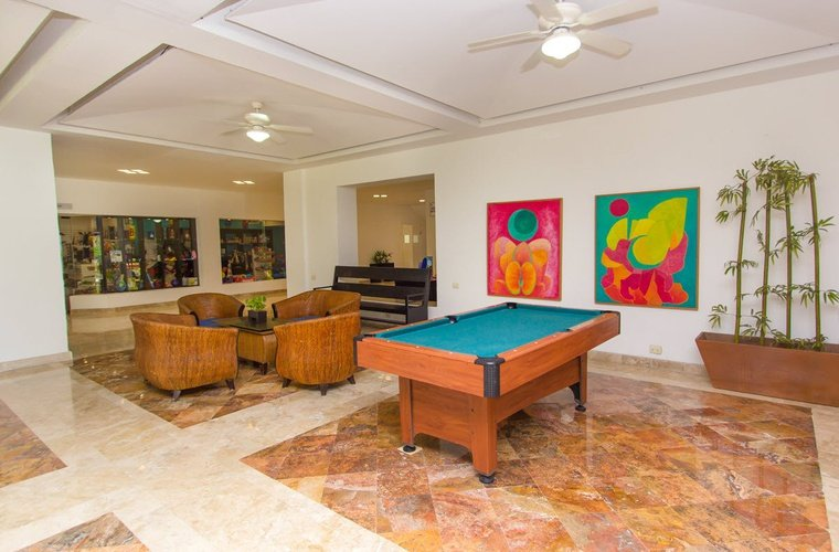 Lobby beachscape kin ha villas & suites cancún